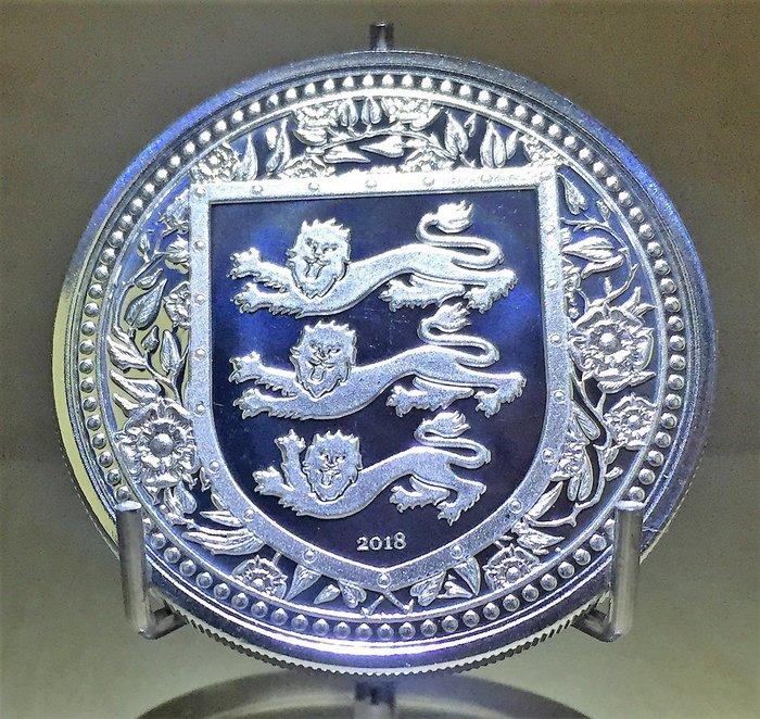 2018 Gibraltar Royal Arms of England 直布羅陀皇家武器銀幣 (1 toz)