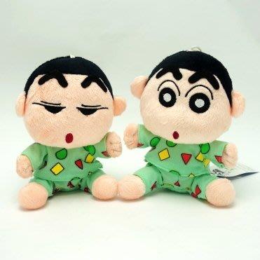 【UNIPRO】睡衣 蠟筆小新 16公分 絨毛娃娃 玩偶 吸盤吊飾 Crayon Shincha 正版授權