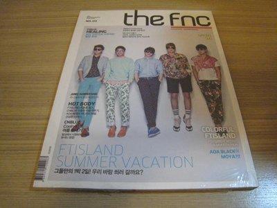 全新韓誌《FTISLAND THE FNC 3 vol.3 夏日寫真》DVD 雜誌