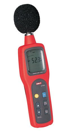 TECPEL 泰菱 》UNI-T 優利德 UT352 數位噪音計 音量計 噪音計 分貝計 UT-352
