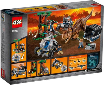【積木王國】LEGO樂高  Carnotaurus Gyrosphere Escape 75929