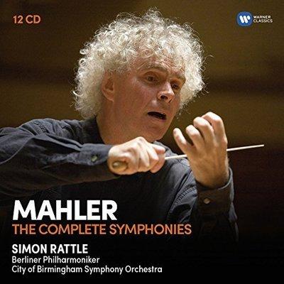 世紀典藏超值盒 -馬勒:交響曲全集/ 拉圖 Simon Rattle --- 9029586917