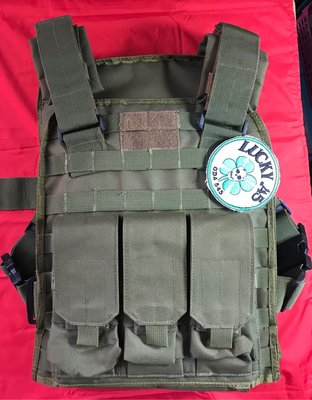 MOLLE SO Tech Plate Carries Set Replica -Green