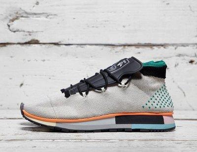 DONNA 美鞋代購~adidas Originals by Alexander Wang Run Mid 聯名款 灰色