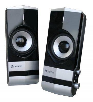 KINYO 2.  lt b  gt 0  lt b  gt 多媒體擴大音箱 PS292 高工藝鏡面處理可外接麥克風及耳機,解決線長問題