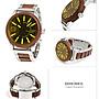 DIESEL DZ1799 手錶 47mm Rasp 混搭皮革鋼錶帶 男錶女錶