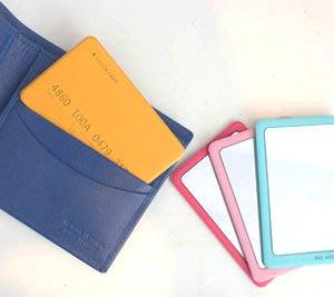 Growlife 種生活 ▶ 韓國 TAZ - CARD & MIRROR 信用卡造型鏡子 /化妝鏡 / 隨身鏡