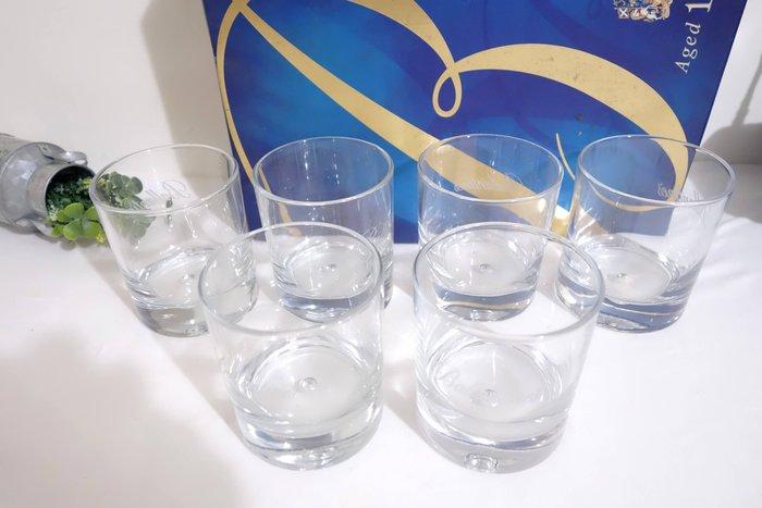 全新 ballantines百齡譚威士忌酒杯 水杯 茶杯 馬克杯 咖啡杯 牛奶杯 玻璃杯  非二手 6個 現貨