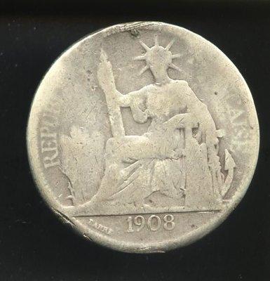 (a1)   1908年貿易銀
