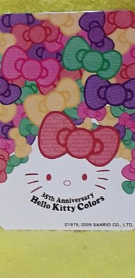 Hello Kitty 35週年紀念 悠遊卡 限量 絕版 收藏 附創意精緻卡套