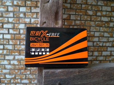 X-FREE內胎 26X1.75 26X1.5 美嘴 自行車內胎 26*1.75 登山車內胎26吋 高雄市