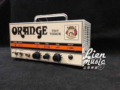 『立恩樂器』現貨供應 ORANGE 經銷 TINY TERROR 15瓦 電吉他 音箱頭 來電另有折扣