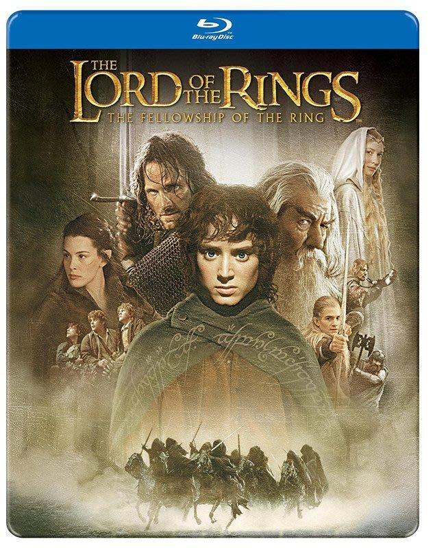 毛毛小舖--藍光BD 魔戒首部曲:魔戒現身 限量鐵盒版 The Lord of the Rings