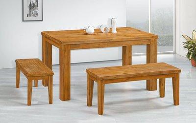 【南洋風休閒傢俱】精選時尚餐桌椅系列- 實木桌 用餐桌 造形桌 洽談桌-禪意拉絲長凳CY363-6