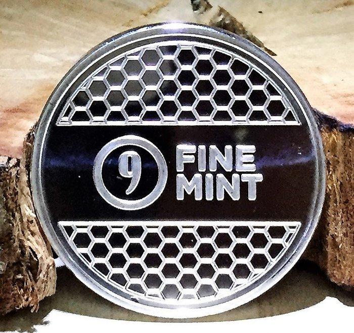 9Fine Mint 品牌 (Beehive) 蜂巢銀幣 (1 toz)