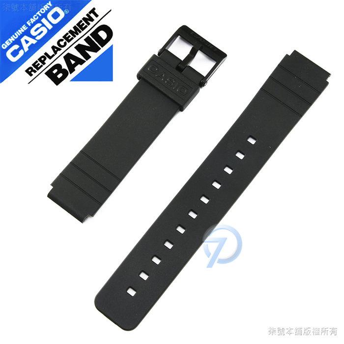 【柒號本舖】CASIO原廠膠帶-黑 MQ-24 / MQ-104 專用
