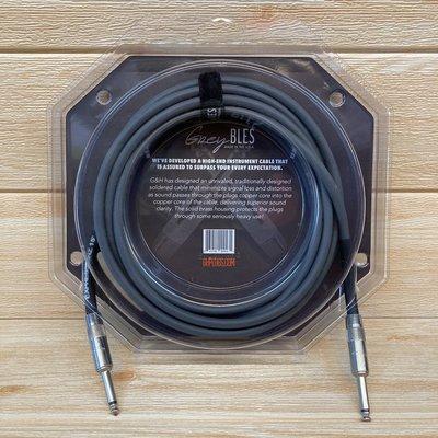 【又昇樂器 . 音響】美國大廠 G&H Plugs Expressionz Cable 原廠導線 15ft 雙直頭
