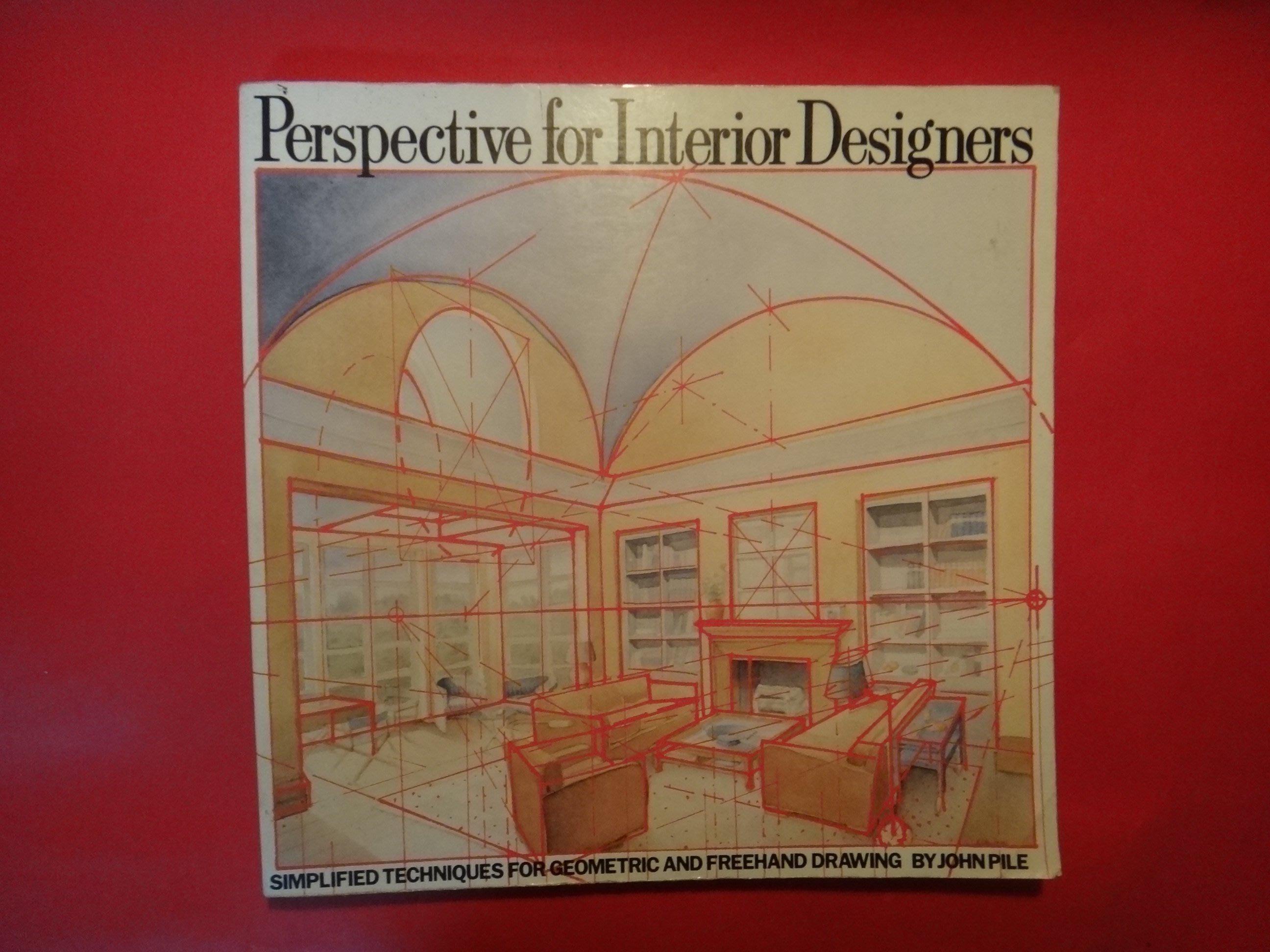 【愛悅二手書坊 16-28】Perspective for Interior Designers