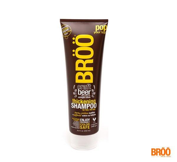 GOODFORIT / 美國BROO Shampoo柑橘精釀啤酒無矽靈豐盈洗髮精/250ml