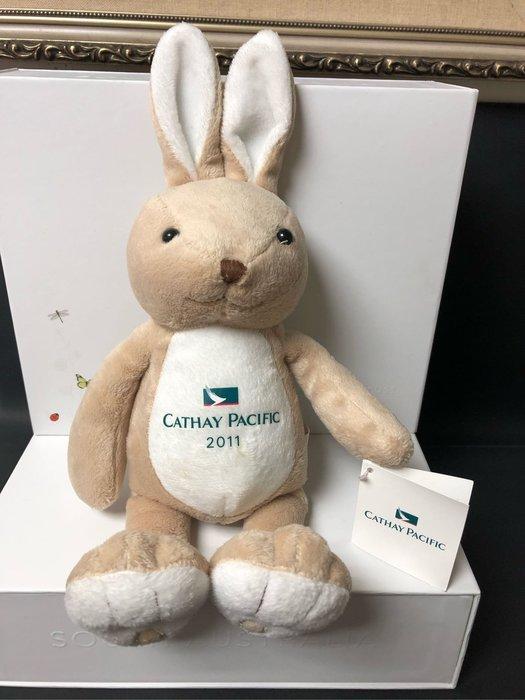 【小麥的店】全新長榮航空 2011年絨毛兔寶寶~柔軟舒適 寶寶最愛
