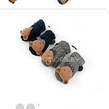 【小糖雜貨舖】韓國進口 公司貨 WINGHOUSE 立體小熊手套 MA0355 - 灰色 / 深藍色 (XXS、XS)