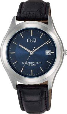 日本正版 CITIZEN 星辰 Q&Q W478-302 手錶 男錶 皮革錶帶 日本代購