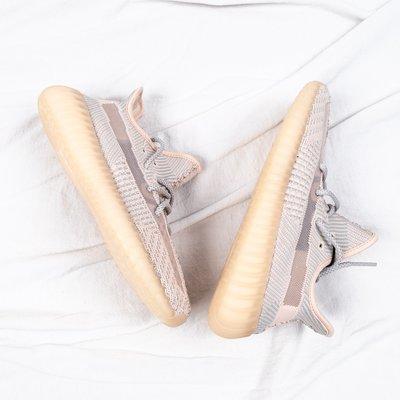 Adidas Yeezy Boost 350 V2 Synth 粉天使 男女慢跑鞋 鞋帶反光 FV5578