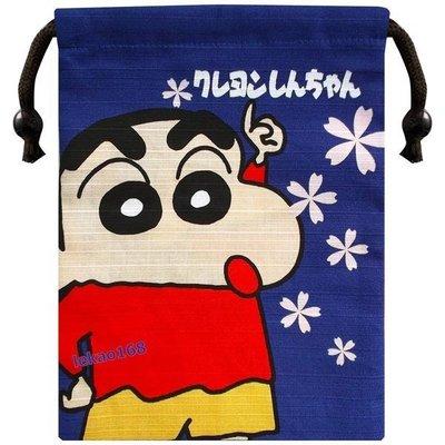 蠟筆小新與富士山束口袋巾著袋組 [ 新到貨開學趣 日本製  ]