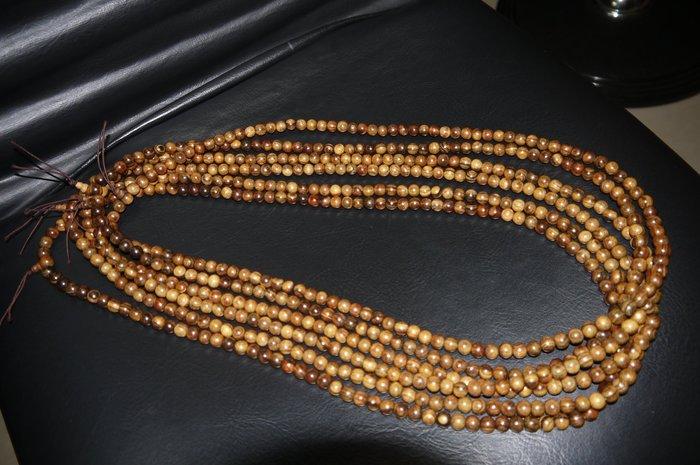重油 肖楠(越南)108顆念珠、佛珠(非檜木盒、龍柏、牛樟、樟木、紅檜、黃檜、崖柏、文昌筆)