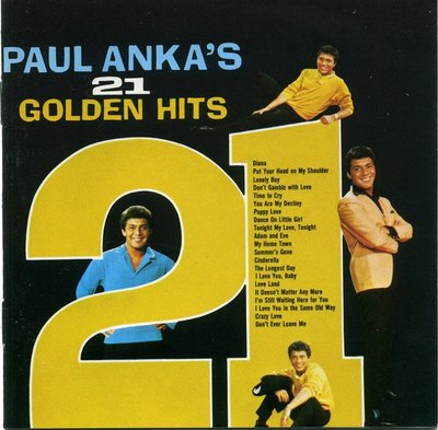 ##60 全新CD Paul Anka – Paul Ankas 21 Golden Hits