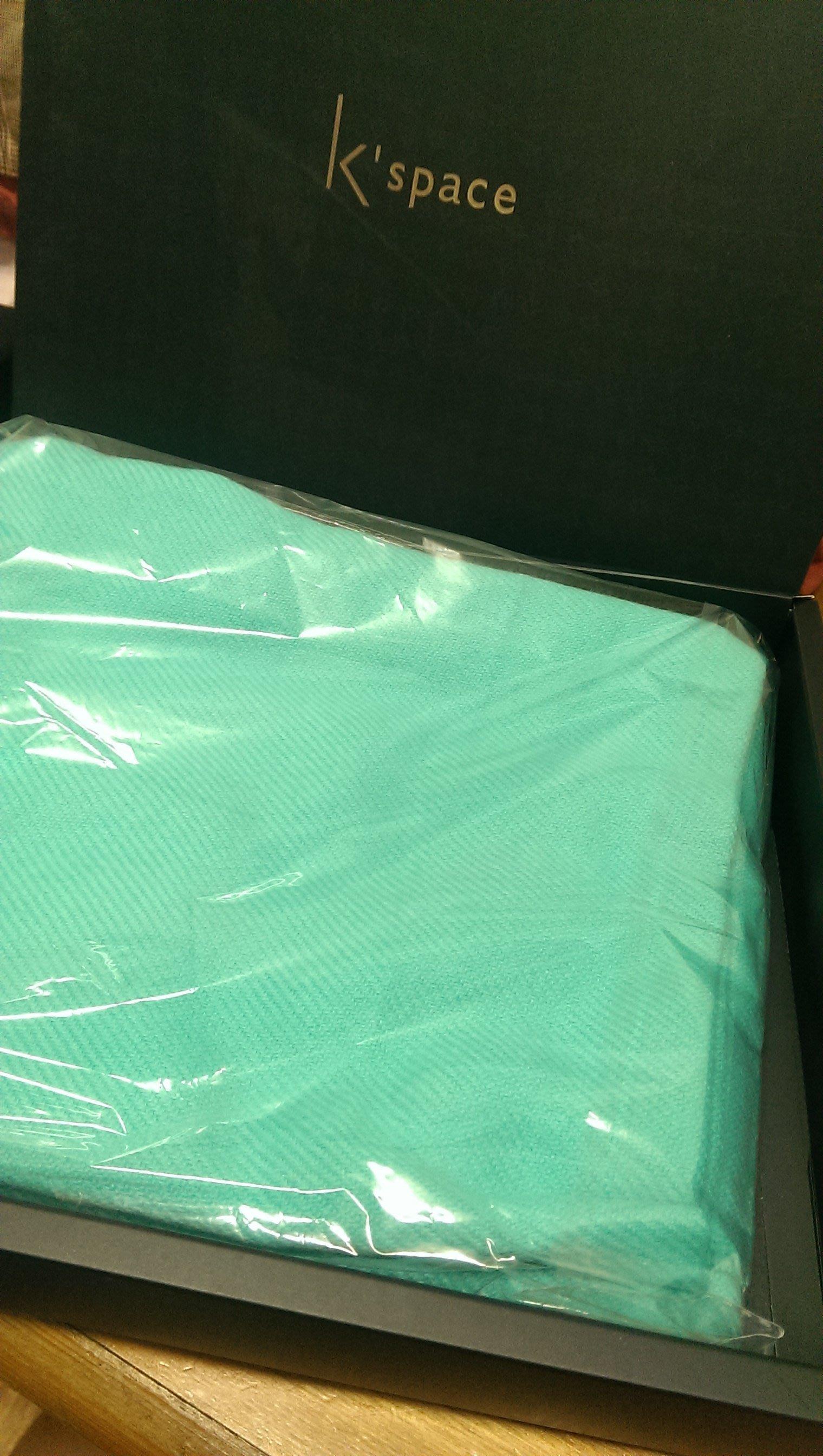 全新~kspace 寬庭美學 優雅披肩/圍巾 粉嫩馬卡龍色系~70*80cm~送禮自用皆宜
