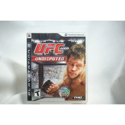 [耀西]二手 美版 SONY PS3 UFC 2009 UNDISPUTED 終極格鬥王者 含稅附發票