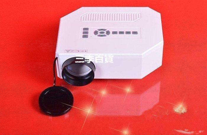三季時尚高端多維優麗可UC30高清投影儀迷你LED便攜3D電腦蘋果安卓手機投影機多功能投影儀❖696