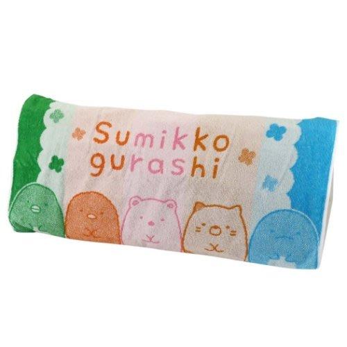 日本 正版授權 SAN-X 角落生物 彩色毛巾布 枕頭套