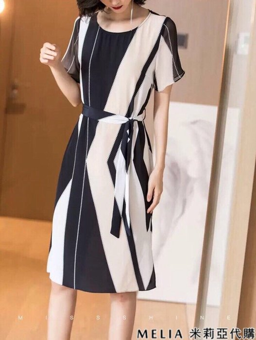 Melia 米莉亞代購 商城特價 數量有限 每日更新 CELINE 連身裙 專櫃同步 不規則印花經典不過時