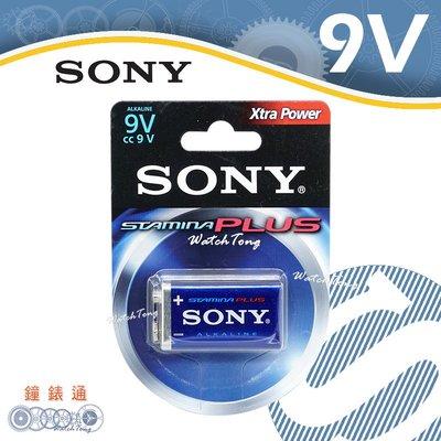 【鐘錶通】SONY 6LF22 高效能 9V 鹼性電池 1入 (6AM6-B1D ) DC 9V