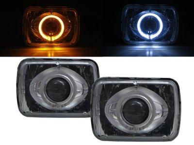 卡嗶車燈 DODGE 道奇 Rampage 1982-1983 兩門車 CCFL雙光魚眼 大燈 電鍍