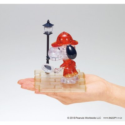 BEVERLY 3D立體 水晶拼圖 SNOOPY 史努比 偵探 50231 (48652) 新北市