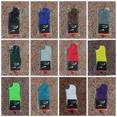 Nike襪 【素面款  春 薄款船襪 】【12色可選】【 】