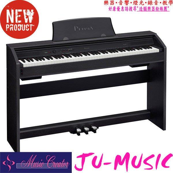 造韻樂器音響- JU-MUSIC - 2015 CASIO PX-760 純黑 數位鋼琴 電鋼琴 特惠 出清價