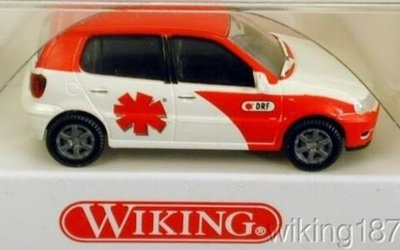傑仲(有發票) 博蘭 公司貨 WIKING emergency physician VW Polo 0710534 HO