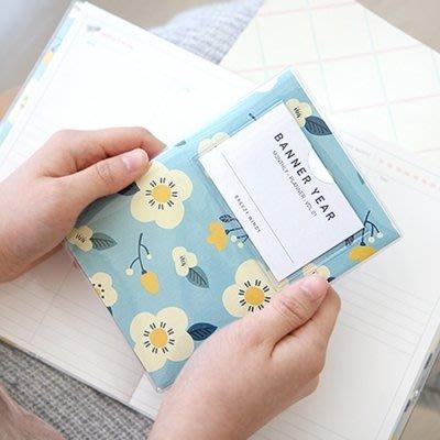 ♀高麗妹♀韓國 Minibus BREEZY WINDY 微風花香S 萬年月記事行事曆/隨身萬用筆記本(5款選)預購