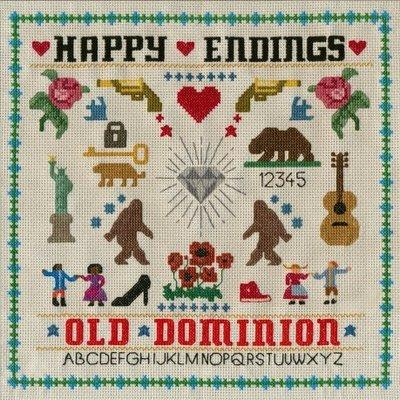 【黑膠唱片LP】皆大歡喜 Happy Endings / 舊版圖樂團Old Dominion---88985429391