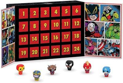 【ToyGo】現貨美國購回*Funko Marvel  24隻公仔 漫威80周年限定版(Gamestop)降臨曆倒數日曆