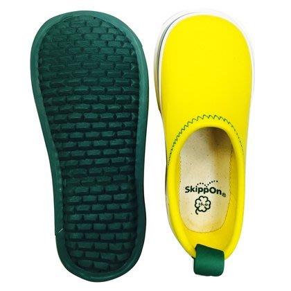 【日本人氣代購】SkippOn 幼兒 戶外機能鞋 包鞋 學步鞋 素色 黃色 14cm