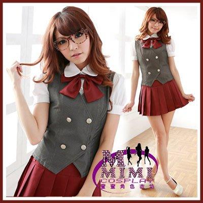 【T-061】甜美系學生服~專賣空姐服.女僕裝.水手服 女秘書~蜜蜜衣舖