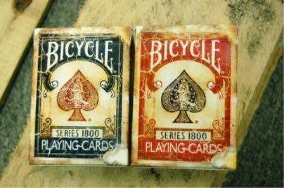 【意凡魔術小舖】原廠 BICYCLE 撲克牌 Bicycle Vintage Series 1800 古董牌