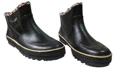 ☆°萊亞生活館 ° 台製工作鞋【A563-短筒雨鞋-女款-黑色】防水工作鞋/園丁鞋~舒適.好穿~出清特價中~售完為止