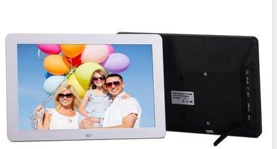 超薄12寸寬屏支援全格式LED屏高清多功能數碼相框廣告機/電子相冊
