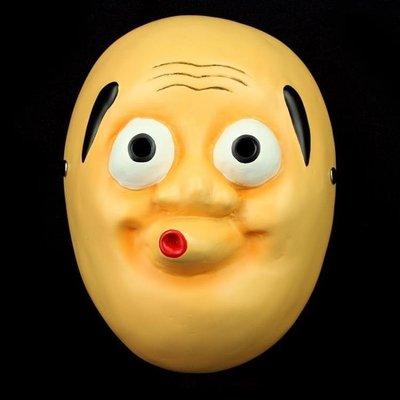 哆啦本鋪 電影主題面具死亡筆記電影版火男面具 動漫樹脂面具 D655